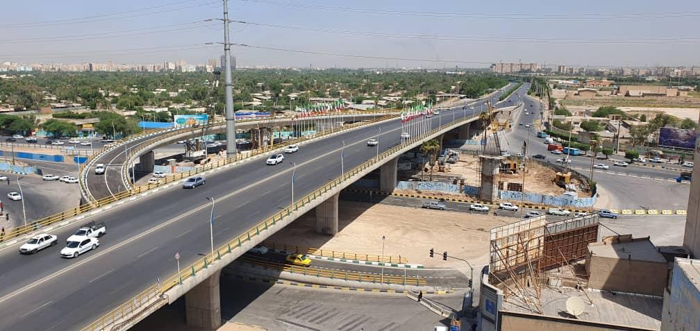 بهرهبرداری تقاطع غیر همسطح شهید کجباف اهواز