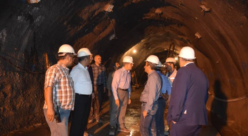 بازدید مدیرعامل سیمان تأمین از پروژه سد کوهرنگ 3