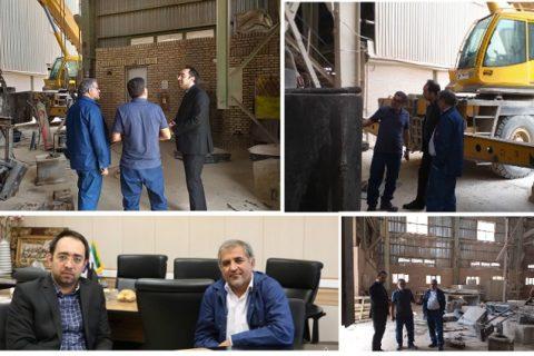بازدید نایب رئیس هیئت مدیره سیمان تامین شستا از سیمان شاهرود