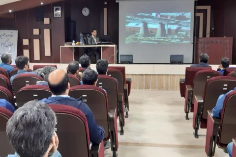 برگزاری دوره آموزش زیست محیطی در سیمان شاهرود