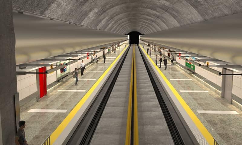 کاهش 40 دسیبلی ارتعاش و صدا در خط 2 مترو کرج