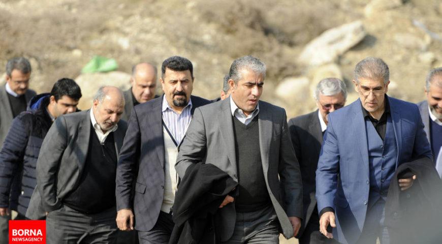 بازدید مدیرعامل سیمان تأمین از تصفیه خانه ششم آب تهران