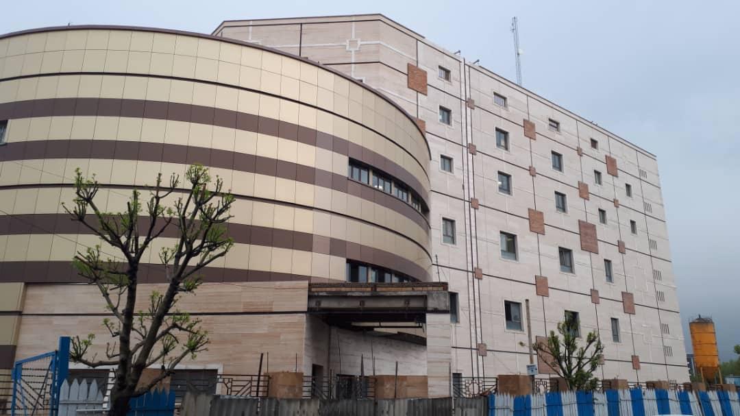 افتتاح ساختمان مرکز فرمان خط 2 قطارشهری کرج بدون تشریفات