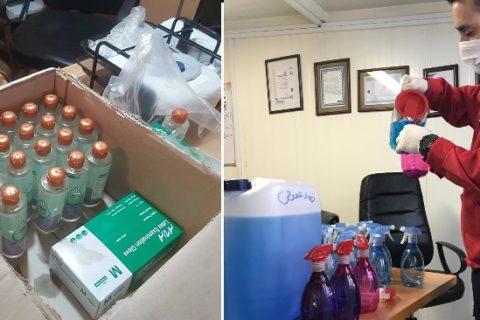 5 اقدام حمایتی سابیر در 6 استان کشور برای مقابله با کرونا