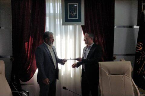 حامد عطاری به عنوان فرمانده بسیج هلدینگ سیمان تامین معرفی شد