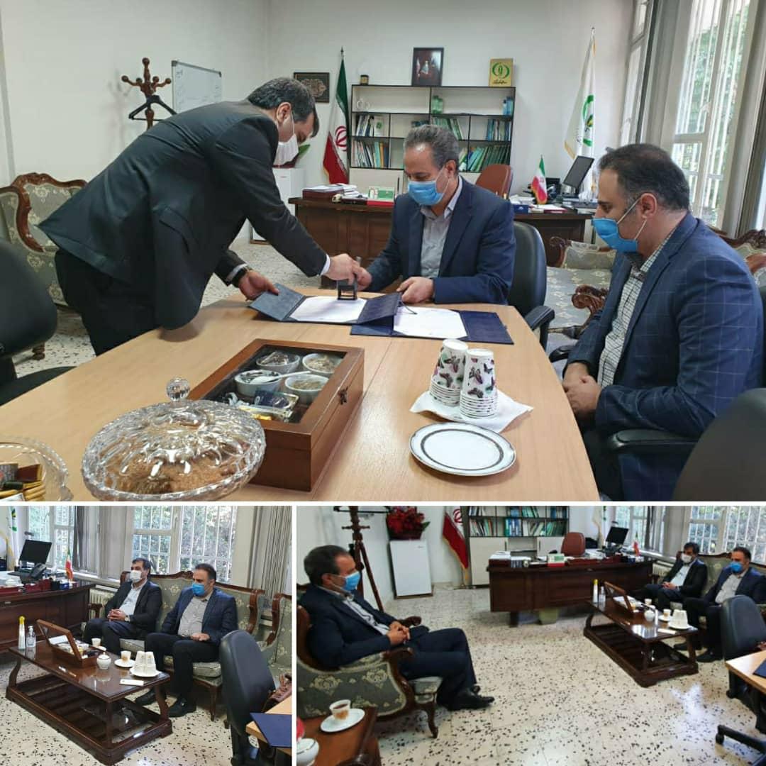 تفاهم نامه همکاری شرکت IGI با موسسه تحقیقات گیاه پزشکی امضا شد