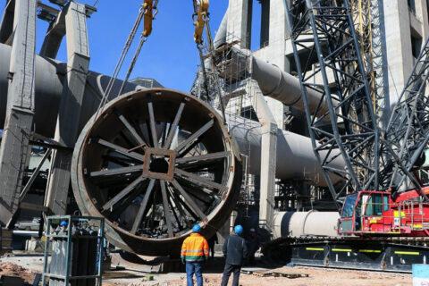 ابر پروژه شرکت سیمان آبیک با موفقیت اجرا شد